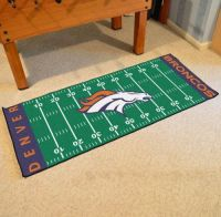 Denver Broncos Runner - 30 x 72