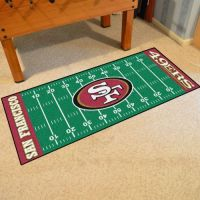 San Francisco 49ers Runner - 30 x 72