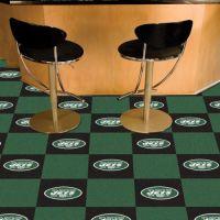 New York Jets Carpet Tiles - 18 x 18 Tiles