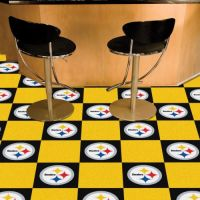 Pittsburgh Steelers Carpet Tiles - 18 x 18 Tiles