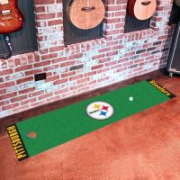 Pittsburgh Steelers Putting Green Mat - 18 x 72