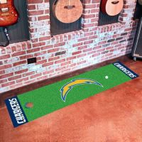 San Diego Chargers Putting Green Mat - 18 x 72