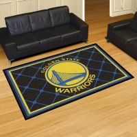 Golden State Warriors Rug - 5 x 8