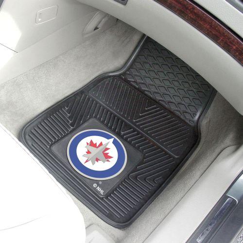 NHL 2-PC Heavy Duty Vinyl Car Mat Set