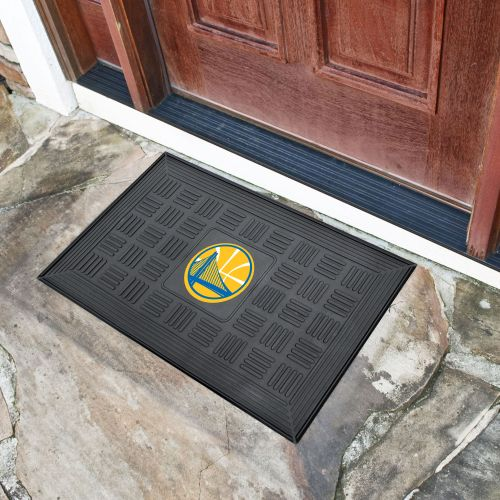 "Golden State Warriors Medallion Door Mat - 20"" x 30"""