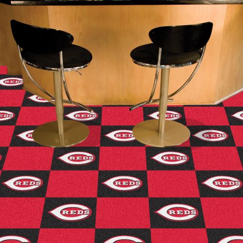 MLB Team Carpet Tiles