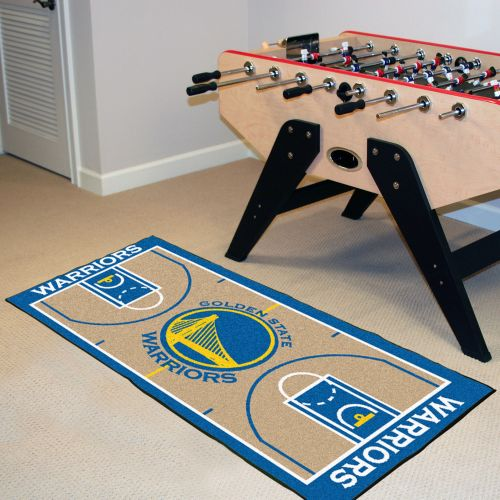 "Golden State Warriors NBA Court Runner - 24"" x 44"""