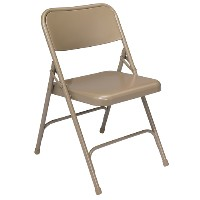 Premium All-Steel Folding Chairs