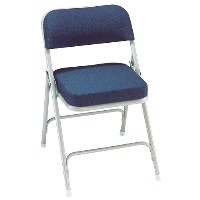 "3200 Series 2"" Thick Padded Folding Chair"