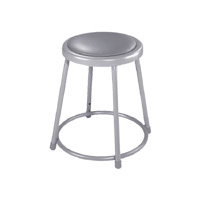 6400 Series Heavy-Duty Steel Padded Lab Stool