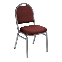 9200 Dome-Back Vinyl Padded Stack Chairs
