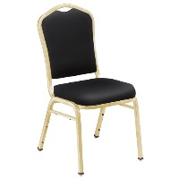 9300 Silhuette Vinyl Padded Stack Chairs