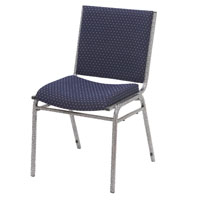 Upholstered &amp; Padded Stacking Chairs