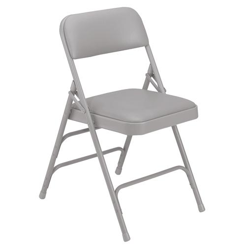 1300 Series Premium Triple-Brace Vinyl-Covered Folding Chair