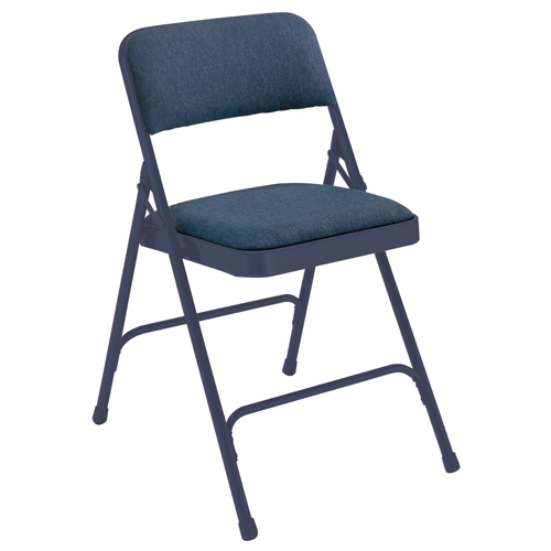 2200 Series Premium Fabric Upholstered Folding Chair
