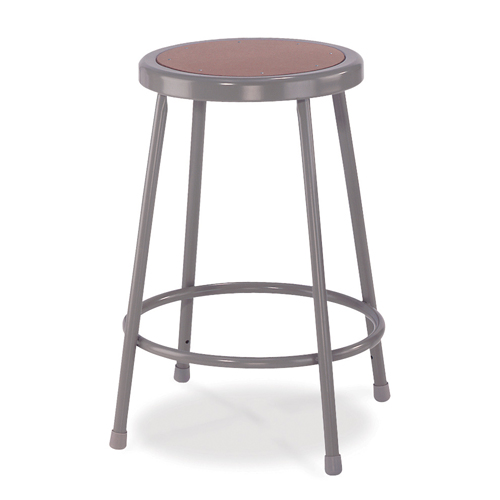 6200 Series Heavy-Duty Steel Lab Stool
