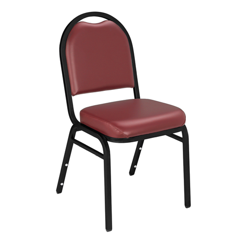 9200 Series Dome-Back Vinyl Padded Stack Chair