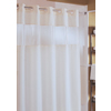 The Major Beige Hookless Shower Curtain