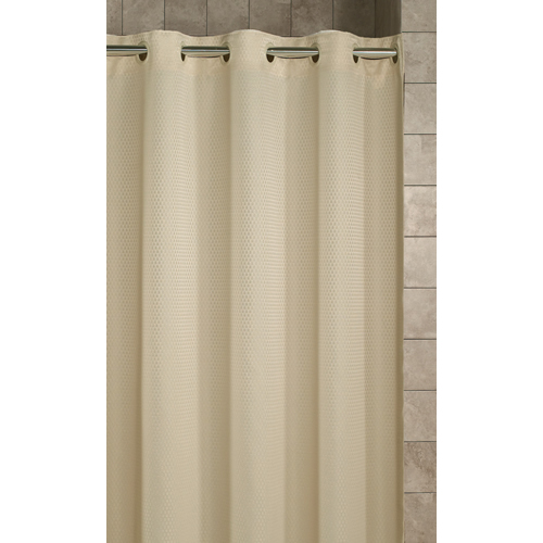 Hookless® Fire Retardant Shower Curtain. On The Right Track Systems, Inc.