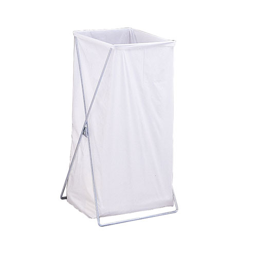 Single Stationary Wire Hamper without Lid