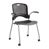 Sassy® Stackable Desk Chair (Qty. 2)