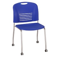 Vy™ Stacking Chair with Casters (Qty. 2)