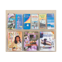 Clear2C™ Magazine and Pamphlet Displays