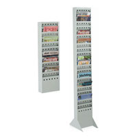 Steel Magazine Display Racks