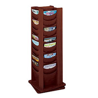 Wooden Rotating Literature Display Racks