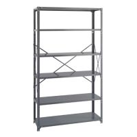Heavy-Duty Industrial Steel Shelving