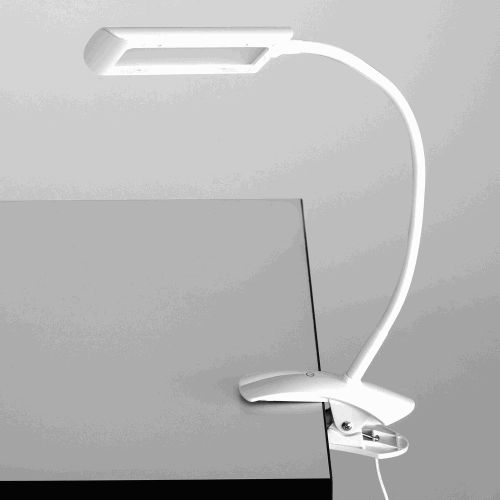 LED Task Light with Flexible Arm