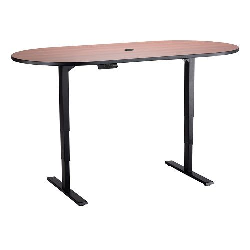 Electric Height-Adjustable Teaming Table