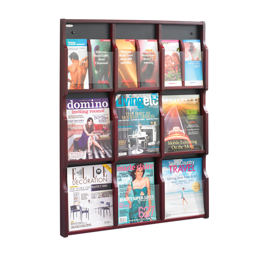 Expose™ Magazine & Pamphlet Displays