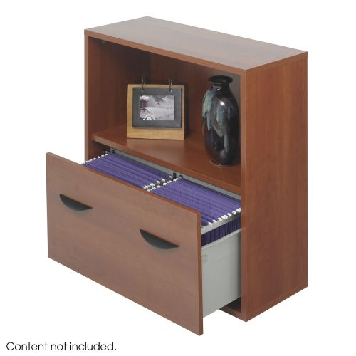 Apres™ Modular Storage Shelf with Lower File Drawer