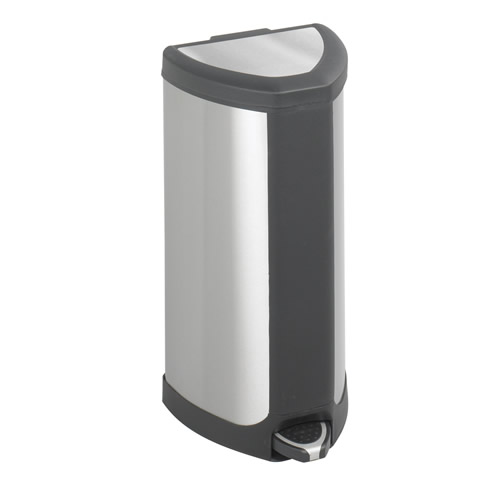 Stainless Step-On Receptacles