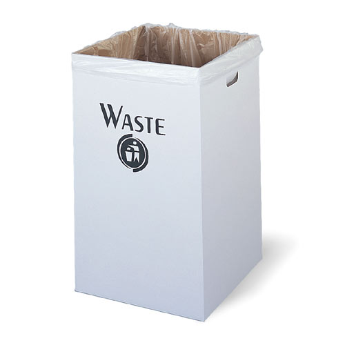 Corrugated Waste Receptacle
