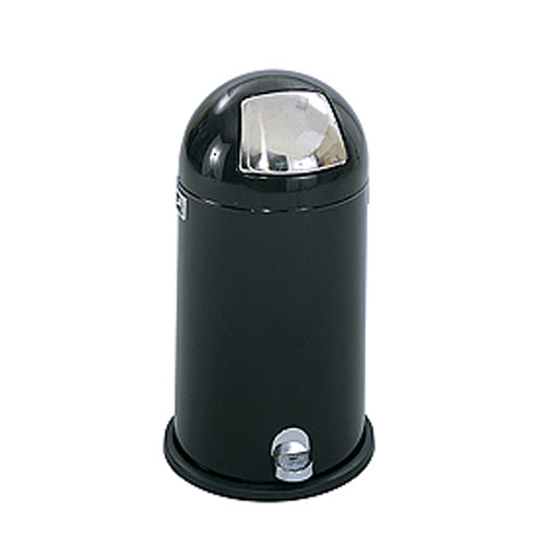 Dome Step-On Trash Cans