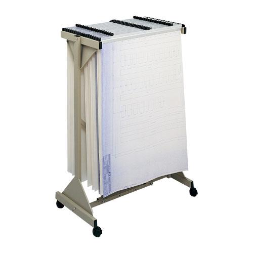 Mobile Plan Center Vertical Filing System