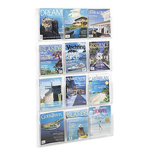 Reveal™ Magazine and Pamphlet Displays
