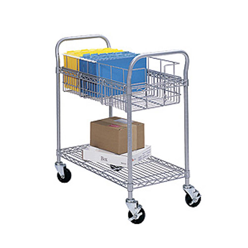Wire Mail Carts
