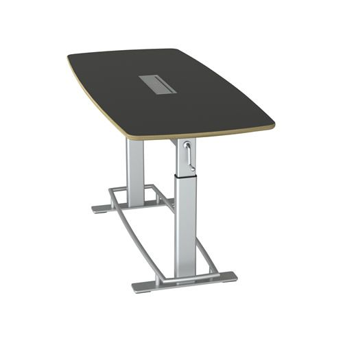 SAFCO Focal Standing Height Conference Table - Standing height conference table