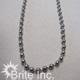 #10 Nickel Plated Beaded Chain