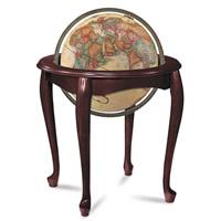 """16"""" Queen Anne Floor Globe"""