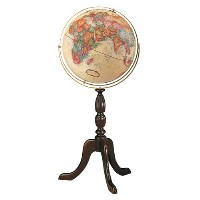 "16"" Cambridge Floor Globe"