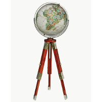"16"" National Geographic Eaton III Floor Globe"
