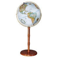 "16"" Edinburgh II Floor Globe"
