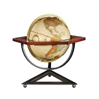 "12"" Hexagon Desk Globe"