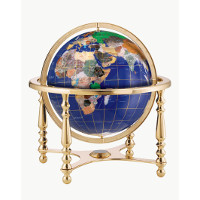 "13"" Compass Jewel Desk Globe"