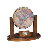 "6"" Executive Antique Desk Globe"