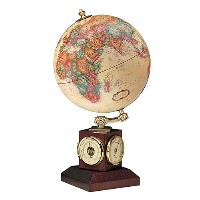 "9"" Weather Watch Desk Globe"